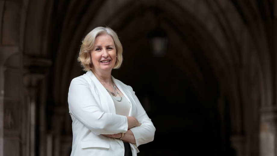 Anne Walters Robertson, Dean of the Division of the Humanities