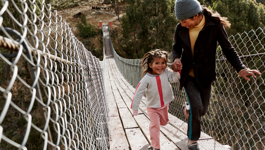 Bridges to Prosperity connects remote communities to resources.