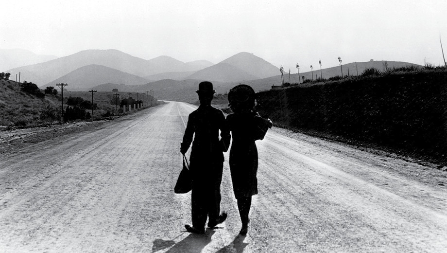 """Charlie Chaplin's film """"Modern Times"""" examined seismic social and economic shifts."""