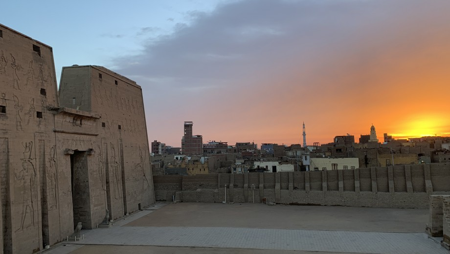 Nadine Moeller co-drects the archaeological project at Tell Edfu. The Oriental Institute, which leads the excavation, celebrates its 100th anniversary this year.