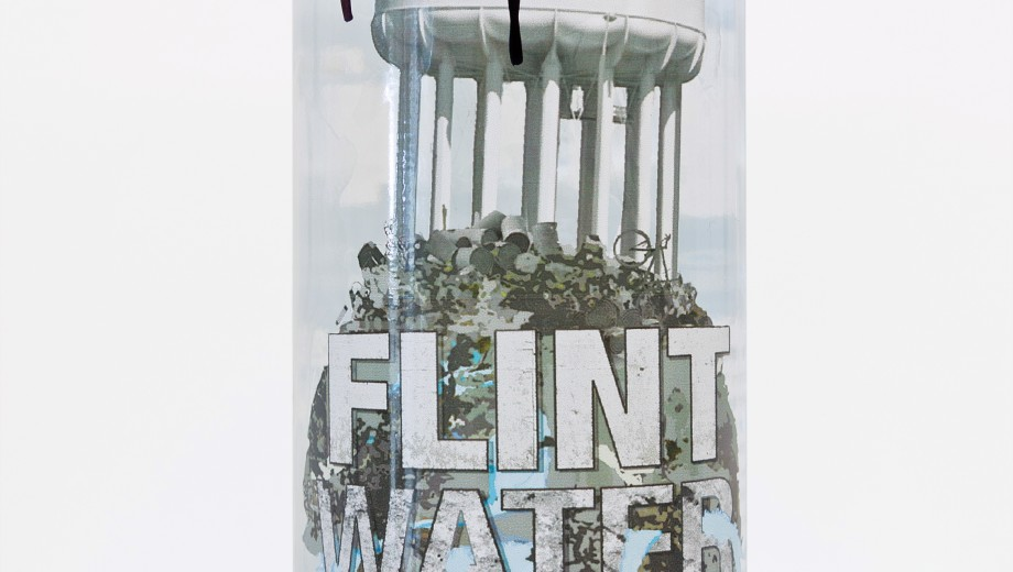 Flint Water Project by William Pope.L also helped to raise money to buy clean water for residents of Flint, Michigan.