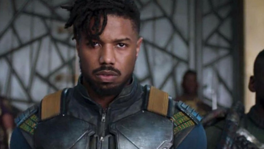Killmonger from the Black Panther movie