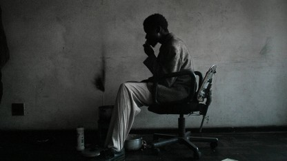 Mathews Ngwenya at his Place in Sherwood Heights, Smit Street, by South African photographer Guy Tillim, exemplifies the postapartheid photography Leslie Wilson is studying.